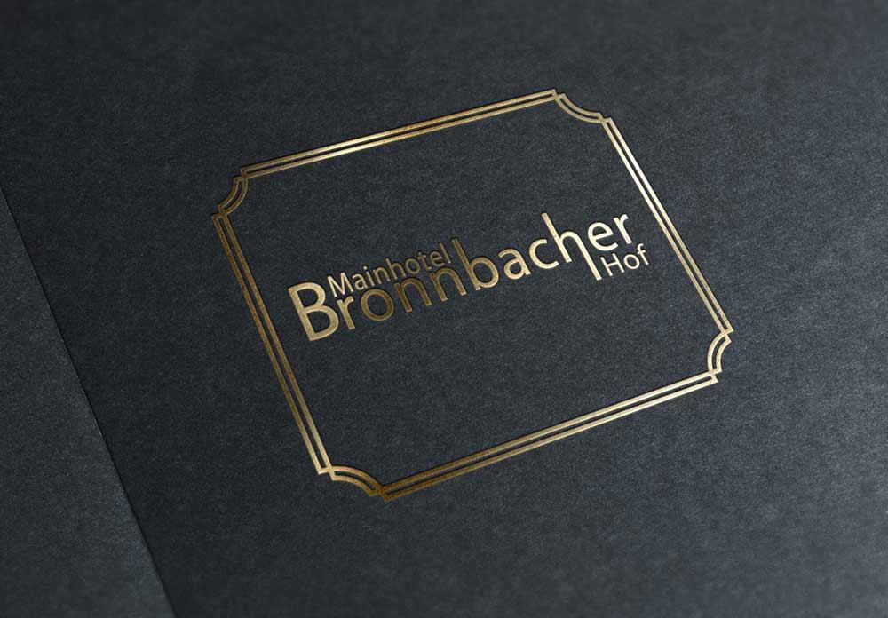 Hotel Bronnbacher Hof |Logo Design