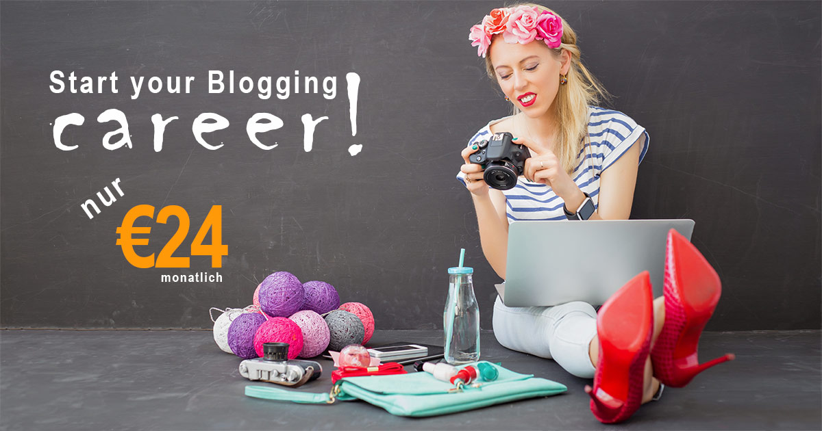 Rent a Website, Blogger Karriere