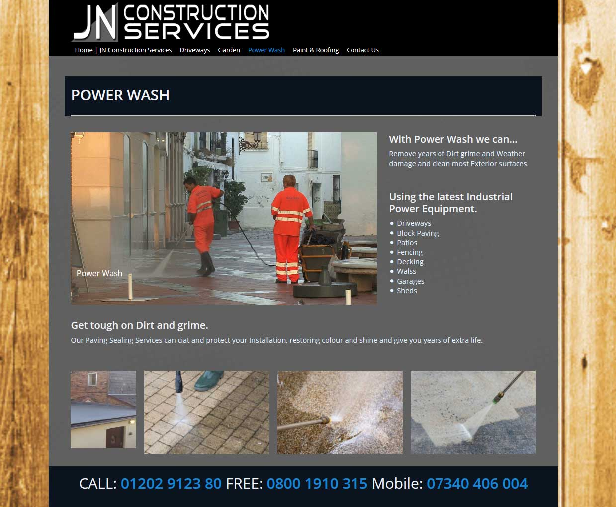 JN Construction Service UK | Webdesign
